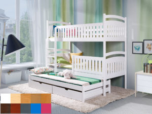 łóżko 3 osobowe